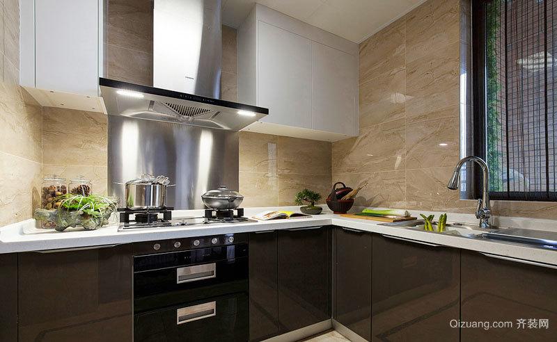 10平米现代风格精致厨房装修效果图赏析