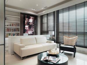 现代简约风格两室两厅两卫装修效果图