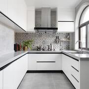 现代简约风格整体厨房设计装修效果图赏析