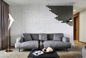 现代风格风格精致客厅背景墙装修效果图