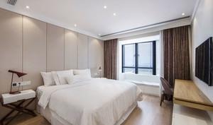 现代风格优雅精致卧室飘窗装修效果图赏析