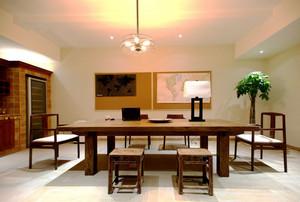 新中式风格古典精美餐厅设计装修效果图鉴赏