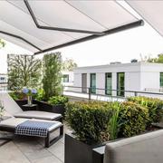 现代风格休闲别墅阳台设计装修效果图