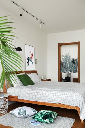 20平米宜家风格简约卧室装修效果图赏析