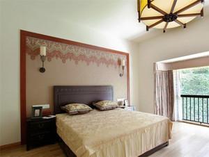 中式风格古典精致两室两厅装修效果图
