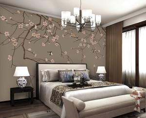 中式风格别致优雅卧室装修效果图