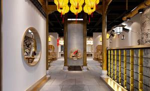 中式风格茶楼室内设计装修效果图