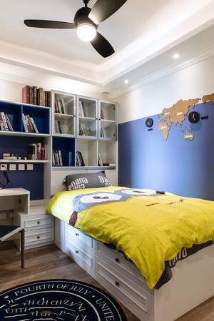 地中海风格简约儿童房设计装修效果图