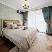美式风格温馨优雅卧室装修效果图鉴赏