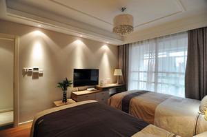 100平米欧式风格精装轻奢室内装修效果图案例