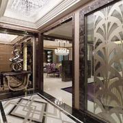 欧式风格奢华大户型玄关设计装修效果图