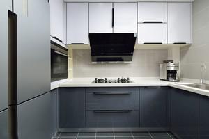 现代风格小户型精美厨房装修实景图
