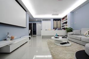70平米现代简约风格两室一厅装修效果图赏析