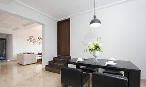 175平米现代简约风格复式楼室内装修效果图