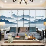 中式风格古典雅致客厅背景墙装修效果图赏析