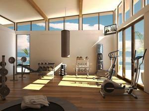 简约风格健身房设计装修效果图