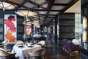 后现代风格时尚西餐厅设计装修效果图