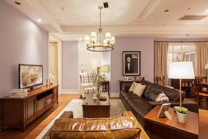 美式风格复古精美三室两厅设计装修效果图赏析