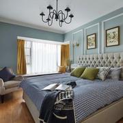 欧式风格清新淡雅卧室装修效果图赏析