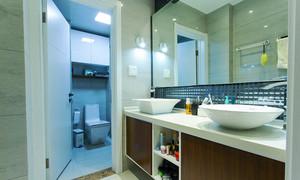 79平米现代简约风格时尚两室两厅装修效果图