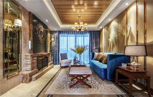 100平米新古典主义风格室内装修效果图