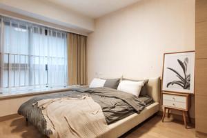宜家风格浅色轻松小户型卧室装修效果图
