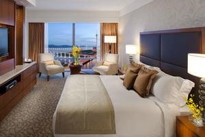 现代风格高档酒店客房设计装修效果图
