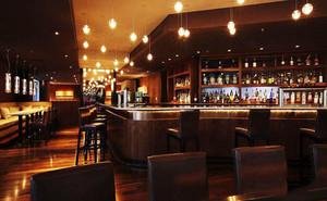 美式风格复古精美酒吧设计装修效果图