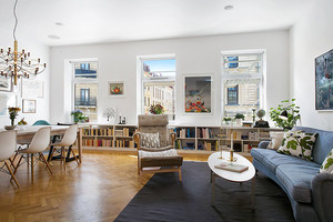 185平米北欧风格简约复式楼室内装修效果图案例