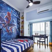 地中海风格创意儿童房设计装修效果图