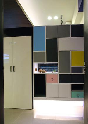 76平米后现代风格时尚公寓设计装修效果图