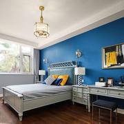 混搭风格时尚精美卧室背景墙装修效果图赏析