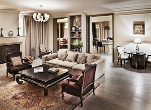 260平米简欧风格精美别墅室内装修效果图