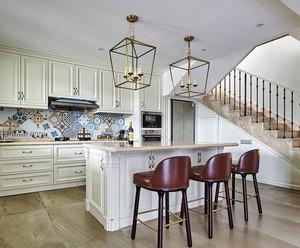 欧式风格精美别墅整体厨房装修效果图