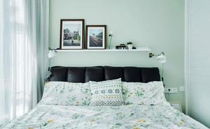 清新风格简约小户型卧室装修效果图