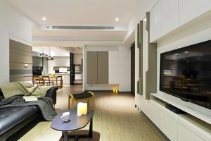 132平米现代风格时尚大户型室内装修效果图案例