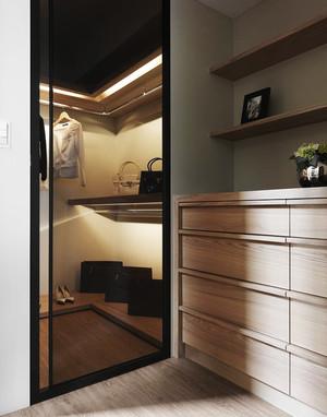 108平米现代简约风格复式楼室内装修效果图案例