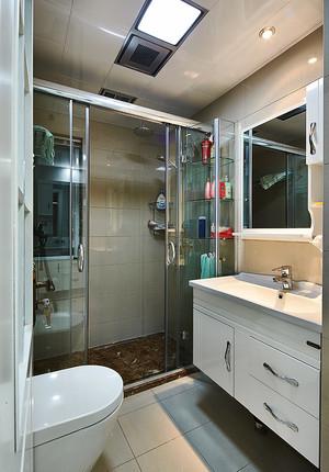 83平米现代简约风格两室两厅室内装修效果图