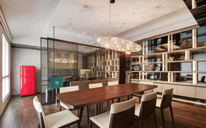 新古典主义风格精美三室两厅两卫装修效果图