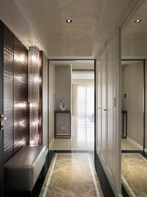 新中式风格典雅低调两室两厅室内装修效果图