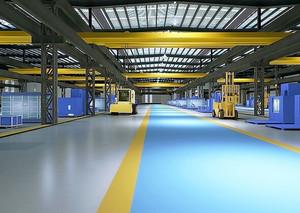 现代风格大型厂房设计装修效果图
