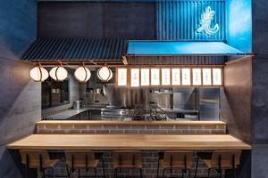 日式风格料理店装修效果图