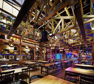 混搭风格精美餐厅设计装修效果图