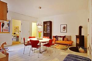 85平米北欧风格简约两室两厅装修效果图