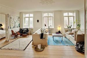 80平米北欧风格简约温馨室内装修效果图