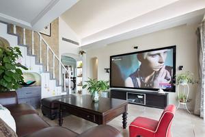 186平米东南亚风格简约复式楼室内装修效果图