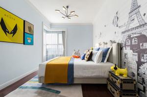 现代简约风格创意个性儿童房装修效果图