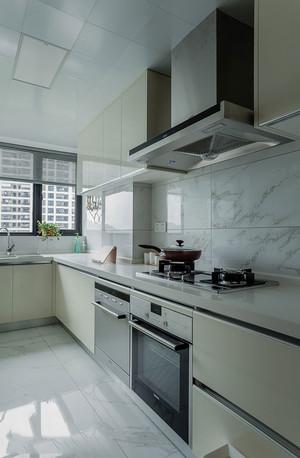 简约风格L型整体厨房装修效果图赏析
