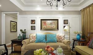 新古典主义风格精美四室两厅两卫装修效果图