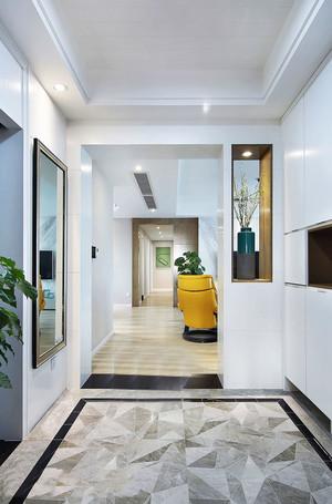 简欧风格复式楼室内玄关设计装修效果图